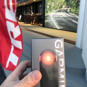 GARMIN VARIA RTL515(リアビューレーダー)導入
