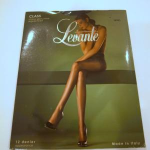 12デニールの艶感のあるストッキング、「LEVANTE Class」