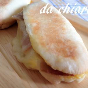もちもちコッペパンでパニーニ風サンド