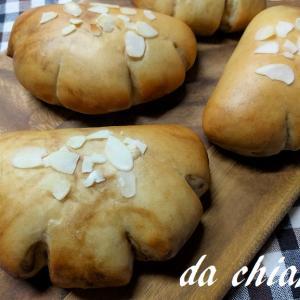 コーヒーマーブル生地のクリームパンレシピ