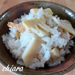 味付油揚げを使う事で調味料は白だしだけ!簡単たけのこご飯