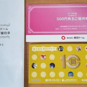 東京ドーム(9681)の株主優待でお得に遊ぼう