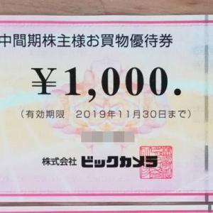 ビックカメラ(3048)の株主優待を紹介!お買い物券が貰えてお得!