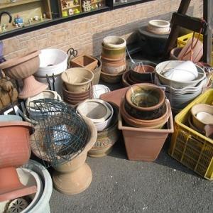 植木鉢&布団乾燥機