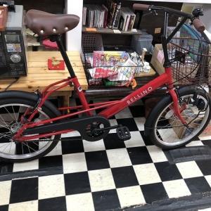 赤ぃ自転車