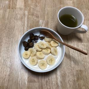 休日の朝食とモーニングルーティーン。