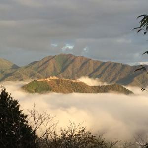 竹田城跡の雲海予報と時期、時間帯は何時頃?確率が高いシーズンは?