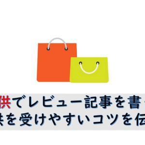 ブログ・アフィリエイトサイトでレビュー記事の書き方!商品提供を狙え!