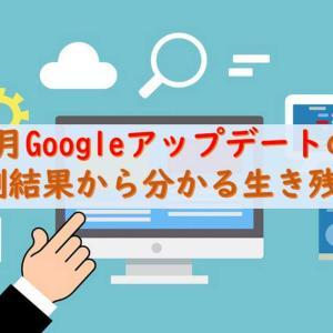 Googleのコアアルゴリズムアップデートについて!順位変動暴露【2019年3月】