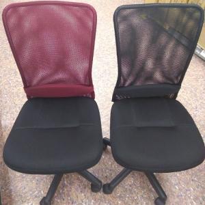 色弱の赤黒の間違いあるある 赤い椅子を黒い椅子だと色を間違えて購入。