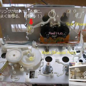 Nakamichi RX-505 ナカミチメカを分解する(二)