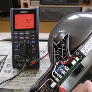 dyson DC48 故障した手元スイッチを修理する(1)