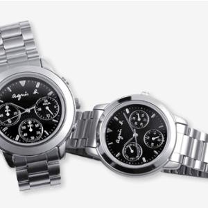 20数年の時を超えて、agnès b.(アニエスベー)の時計を息子へ