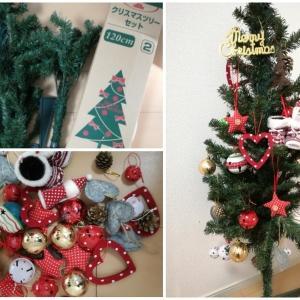 【やりたいこと①】クリスマスツリーを出しました