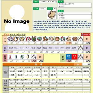 10/18【化学者】玉虫 文一 0396