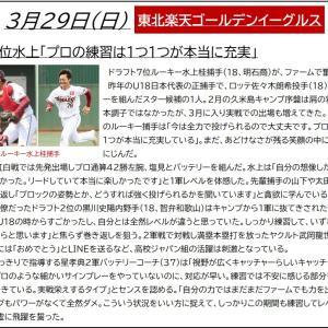 3/29【楽天】ニュース