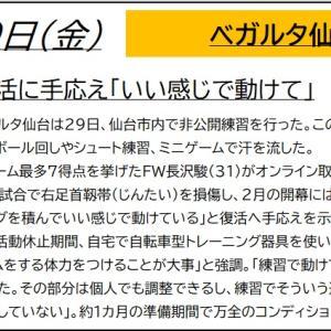 5/29【ベガルタ仙台】ニュース
