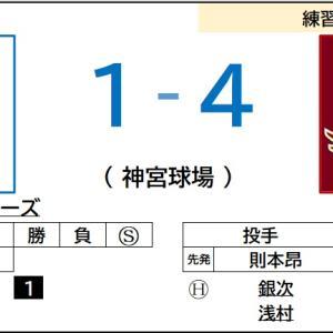 6/12【練習試合】vs ヤクルト