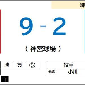 6/14【練習試合】vs ヤクルト