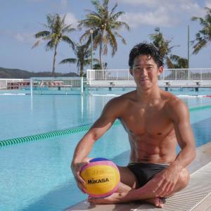 水球日本代表の荒井陸が筋肉ムキムキでイケメン!趣味やプライベートは?