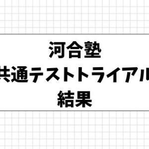 河合塾大学入学共通テスト トライアル模試結果【高2】