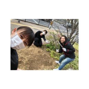 花壇の手入れ☆