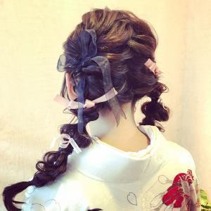 成人式の髪型☆