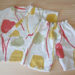 かぶり甚平のパジャマセット2(色違い)