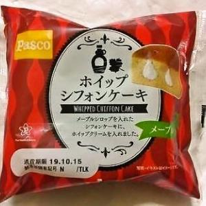 敷島製パン Pasco「ホイップシフォンケーキ メープル」