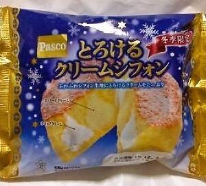 敷島製パン Pasco「とろけるクリームシフォン」