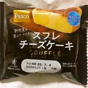 敷島製パン Pasco「スフレチーズケーキ」