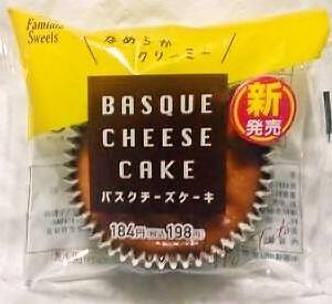 ファミリーマート バスクチーズケーキ
