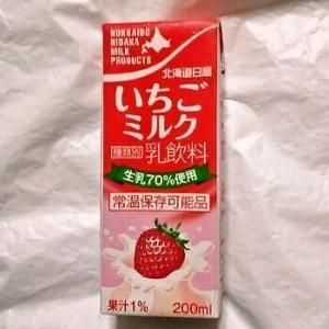 北海道日高 いちごミルク 200ml