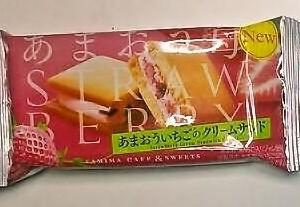 ファミリーマート あまおういちごのクリームサンド