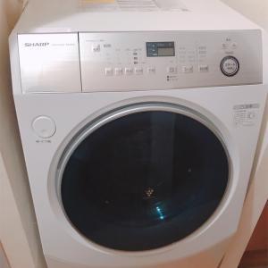 【洗濯機】1Kの一人暮らしに10kgドラム式自動洗濯乾燥機導入!