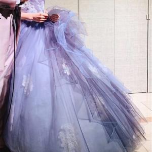 【色彩】お洒落な色の特徴✳︎結婚式のカラードレスから学ぶ
