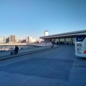アンカラからカッパドキアまでバス移動