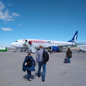カッパドキアからイスタンブールまでのフライト