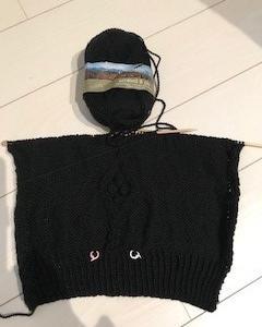 アランセーター編み始め