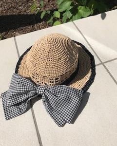 夏のお帽子2個目完成~♡