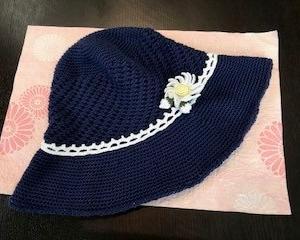 コットン帽子を完成させました!
