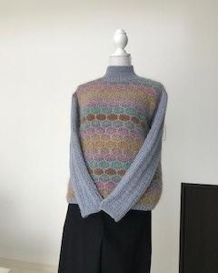 暑い?寒い??ベスト編み始めました。