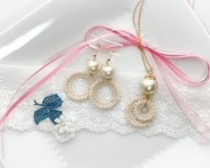 かる・ふわjewelry ベルミヨン クロッシェジュエリー講座(@自宅アトリエ)