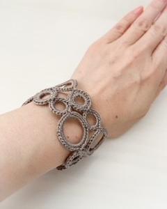 かる・ふわjewelry ベルミヨン クロッシェジュエリー講座(@鎌取イオン)