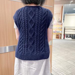 編み物教室@鎌取イオンパンドラハウス(9/20)