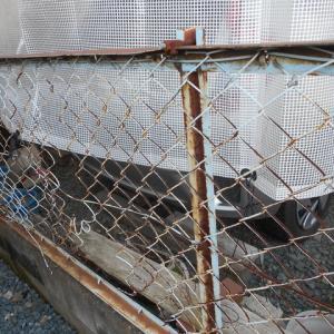「フェンス取替工事」