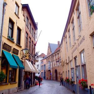 初のベルギー、三泊旅の二日目*ブルージュの街歩き&ビール博物館
