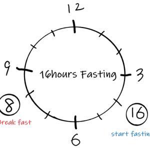 8:16ダイエット、ゆるめの断食で減量を目指す!