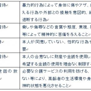 福祉サービス分野(高齢者虐待防止)7月26日