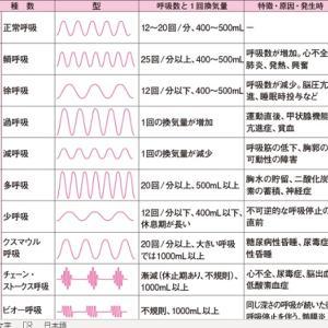 保健医療24回試験用(バイタルサイン)6月13日